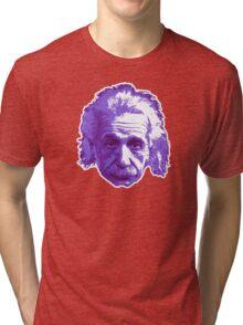 Albert Einstein - Theoretical Physicist - Purple Tri-blend T-Shirt