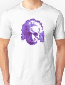 Albert Einstein - Theoretical Physicist - Purple Unisex T-Shirt