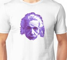 Albert Einstein - Theoretical Physicist - Purple Unisex T-Shirt