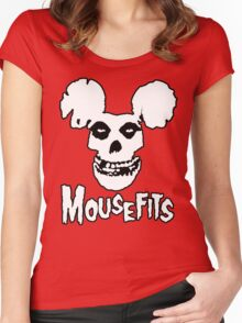I Want Your Cheese! Mousefits Logo Women's Fitted Scoop T-Shirt