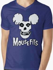 I Want Your Cheese! Mousefits Logo Mens V-Neck T-Shirt