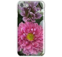 Pink and Purple Flowers with Lilies iPhone Case/Skin