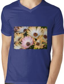 daisy in the garden Mens V-Neck T-Shirt