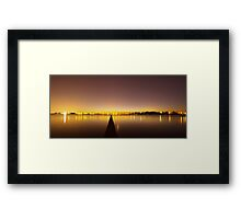 The Jetty & The Bridge Framed Print