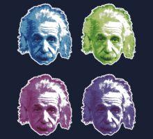 Albert Einstein - Theoretical Physicist - Rainbow Kids Tee