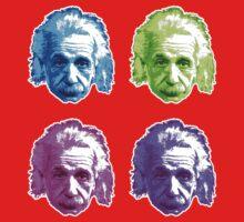 Albert Einstein - Theoretical Physicist - Rainbow Baby Tee