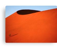 Sculptured dune, Namib Desert soon after sunrise  Canvas Print