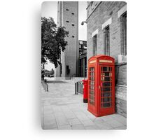 Red Telephone & Post Box Canvas Print