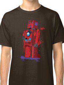 Red Robot Lilliput Splattery Shirt or iPhone Case Classic T-Shirt