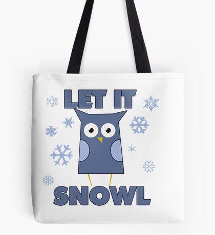 Let it SNOWL Tote Bag