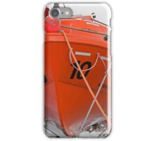 lifeboat onboard DFDS King seaways iPhone Case/Skin