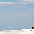 White Sands Rider by Mitchell Tillison