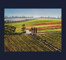 Tuscany - Vineyards One Piece - Short Sleeve