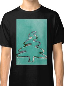pine inlaid as background Classic T-Shirt