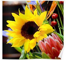 0018  Floral Arrangement Poster