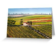 Tuscan Tranquility Greeting Card
