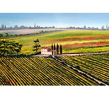 Tuscan Tranquility Photographic Print