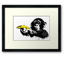 Bad Monkey Framed Print