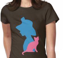 Audrey Hepburn Womens Fitted T-Shirt