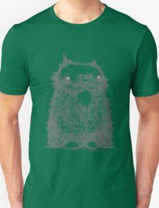 Grey Creepycat T-Shirt