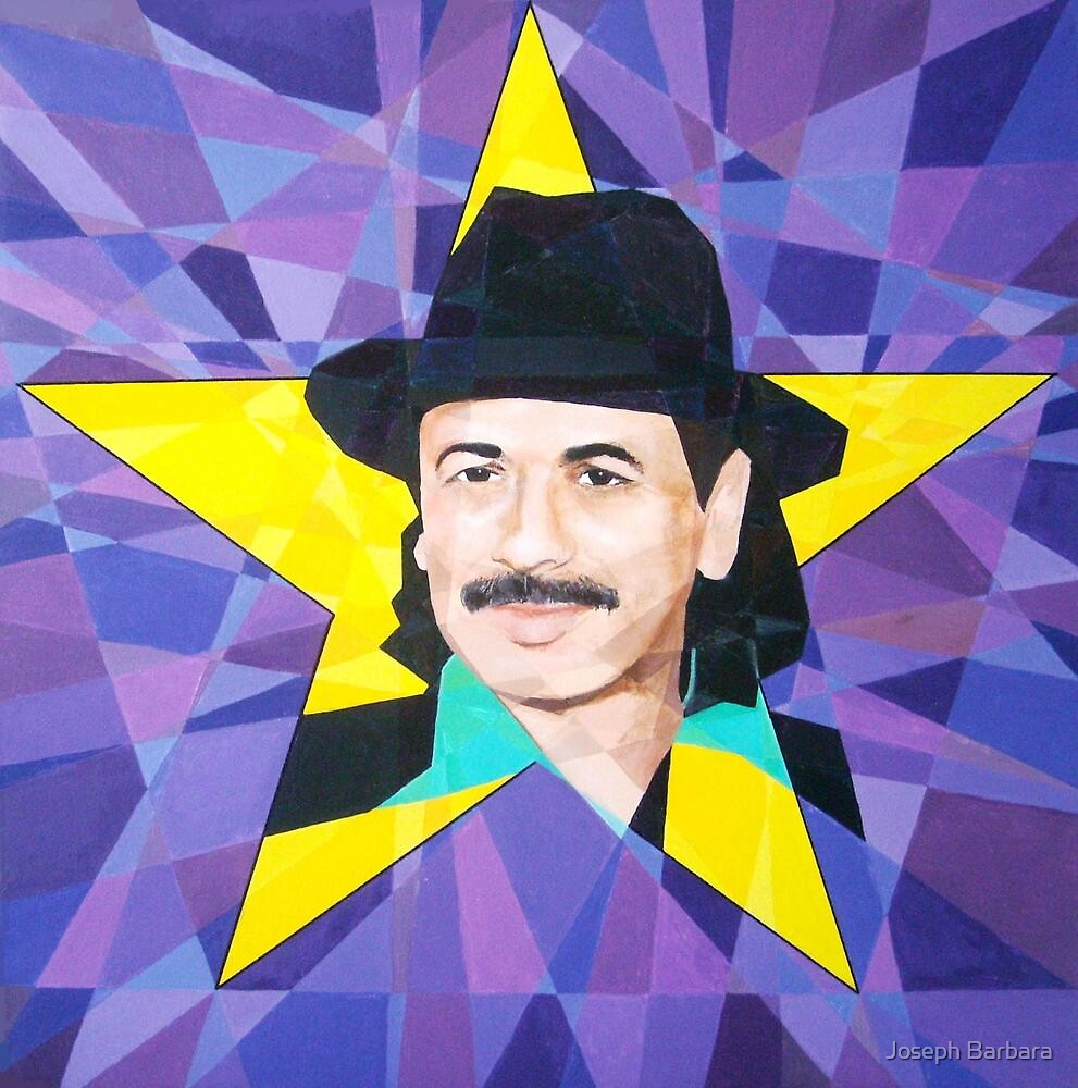 Homage to Carlos Santana by Joseph Barbara