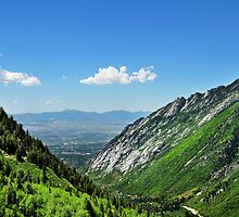 Entrance to Little Cottonwood Canyon by Ryan Houston