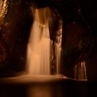 Waterfall at Night..........Black Forest by Imi Koetz