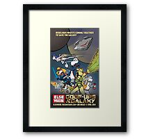 Goof-ups of the Galaxy Framed Print
