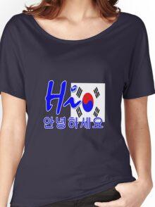HI S.KOREA Women's Relaxed Fit T-Shirt