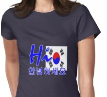 HI S.KOREA Womens Fitted T-Shirt