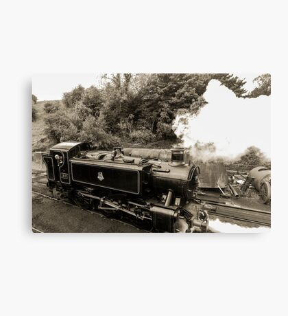 vintage transport Canvas Print