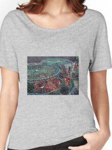 Fishing Circles Women's Relaxed Fit T-Shirt