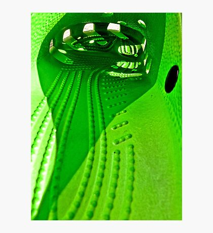 Guess what?   Just a Croc! Photographic Print