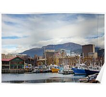 Hobart Harbour Poster