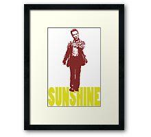 SIMPLY WALKEN ON SUNSHINE Framed Print