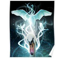 Swan Light Poster