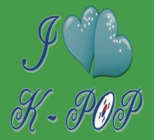 I LOVE K-POP Baby Tee