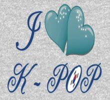 I LOVE K-POP Kids Tee