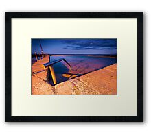 Night Dip Framed Print