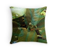 Sage with a twist Throw Pillow