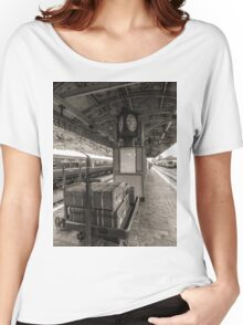 baggage waiting to board Women's Relaxed Fit T-Shirt