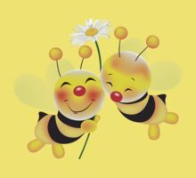 bees in love Kids Clothes