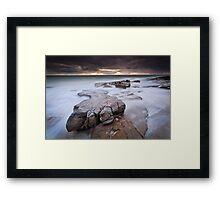 Rockslide (Sunshine Coast, Queensland) Framed Print