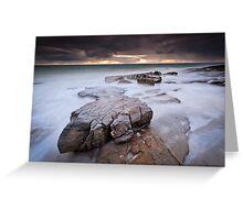 Rockslide (Sunshine Coast, Queensland) Greeting Card