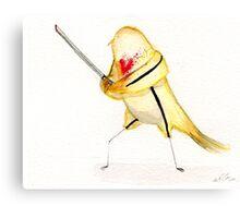 Birdtrix Kiddo- Kill Bill Canvas Print