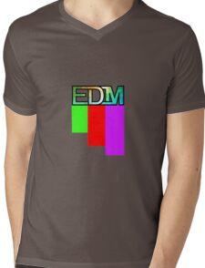 Artistic EDM Mens V-Neck T-Shirt