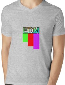 Artistic EDM Mens V-Neck T-Shirt