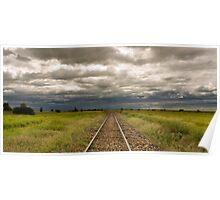 Ilfracombe Rail - Ilfracombe, Qld Poster