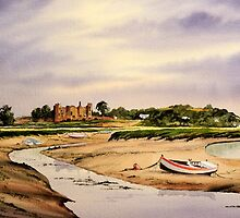 Laugharne South Wales  by bill holkham