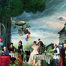 Stephen Hawking's Party by Nadya Johnson